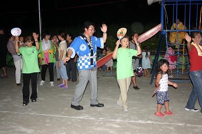 8月16日 山元町花釜盆踊り