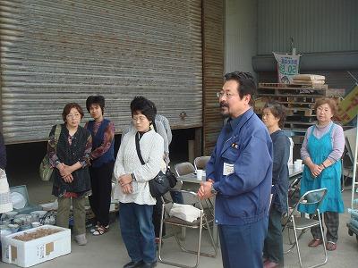 5月24日 JA亘理女性部炊き出し。吉田支所にてお手伝い