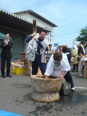 6月19日 朝市心の復興フェスティバル