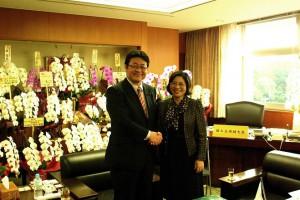 ベトナム建設省副大臣による西村副大臣への表敬訪問2