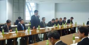 西村副大臣が名取市など2市2町で復興加速化のため意見交換を行いました