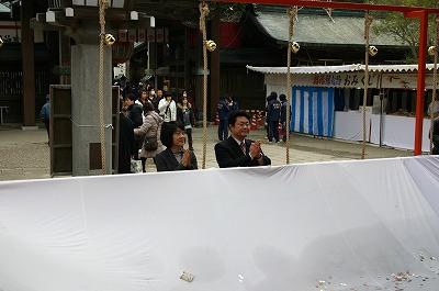 1月4日 竹駒神社新年祈願