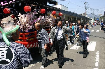 5月3日 白石市春祭り