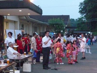 7月31日 大河原町桜寿苑夏祭り